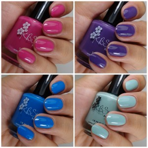 KBShimmer Spring 2014 Collection – Cremes