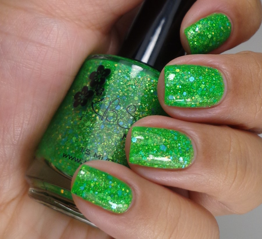 KBShimmer Partners In Lime Glossy 2