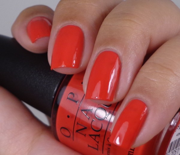 OPI Coca-Cola Red 1