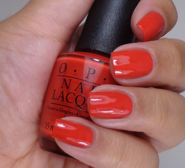 OPI Coca-Cola Red 2