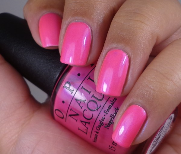 OPI Hotter Than You Pink 1