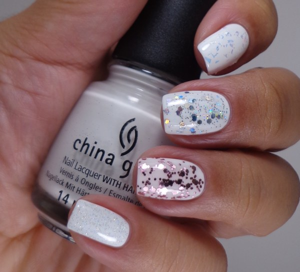 China Glaze Luxe & Lush, Techno, I Pink I Can, Fairy Dust 2
