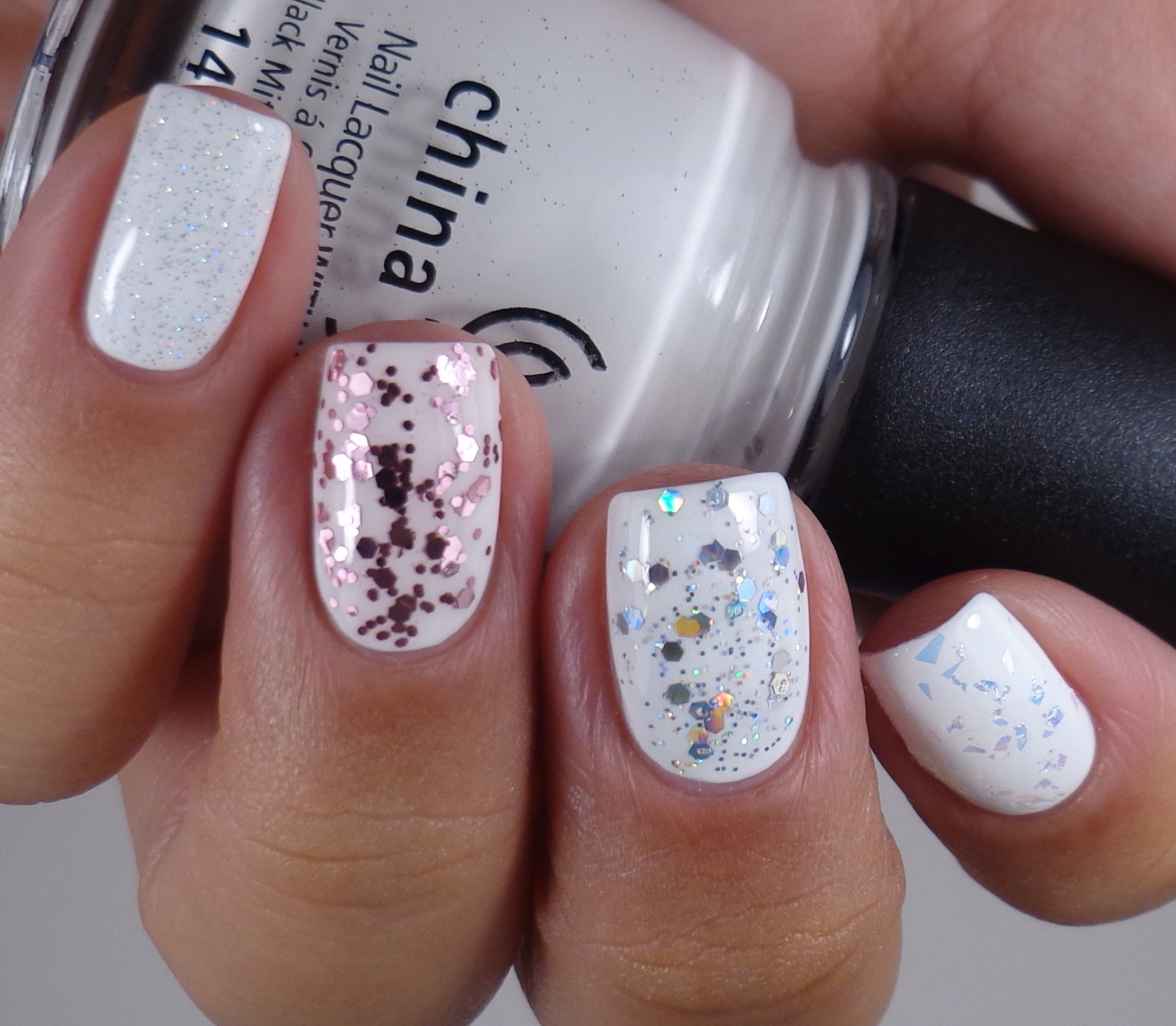 China Glaze Luxe & Lush, Techno, I Pink I Can, Fairy Dust 3 - Of ...