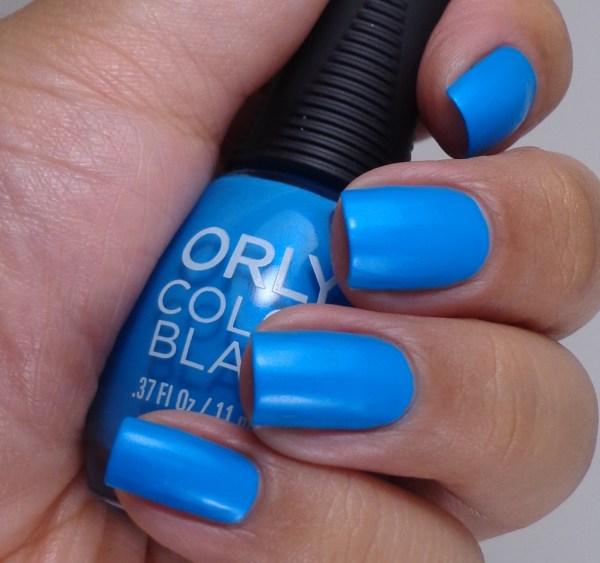 Orly Color Blast Bright Blue Neon 1