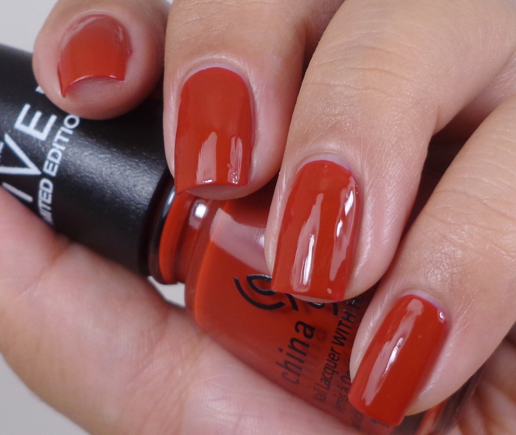 China Glaze Seeing Red 1