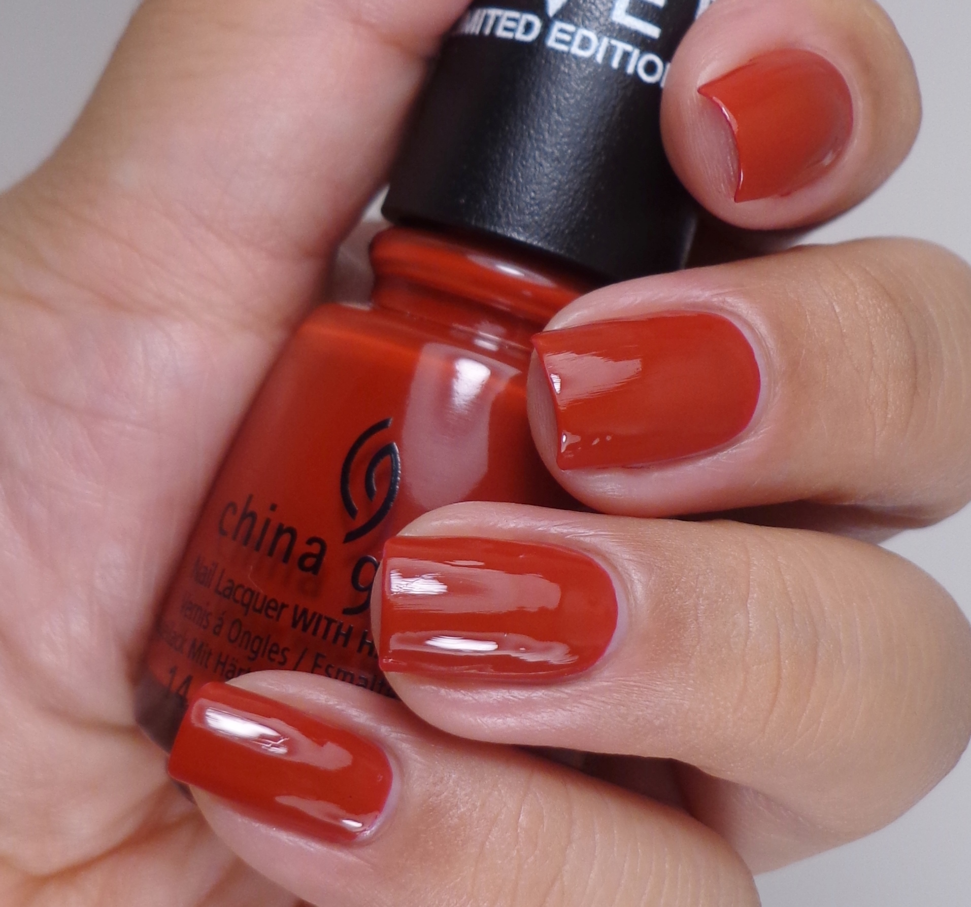 China Glaze Seeing Red 2