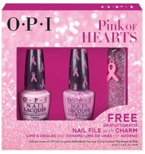 Giveaway – OPI Pink Of Hearts BCA 2014