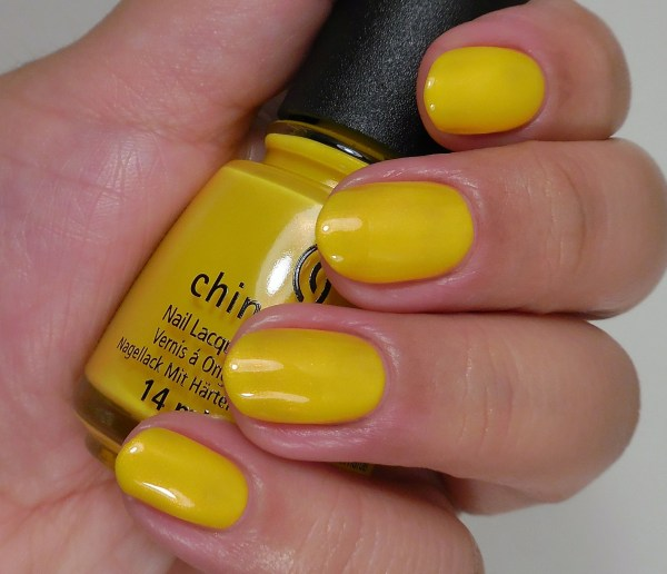 China Glaze Sun's Up Top Down 2