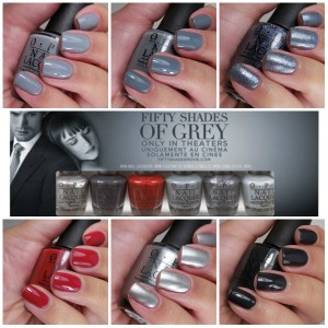 Flash Giveaway – OPI 50 Shades of Grey Minis