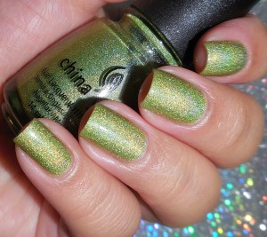 China Glaze Laser Lime