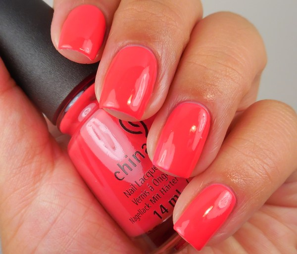 China Glaze Hot Flash 1