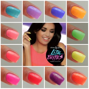 China Glaze Lite Brites Collection Summer 2016