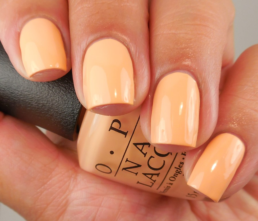 OPI I'm Getting a Tan-gerine 1