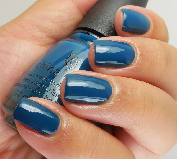 China Glaze Jagged Little Teal 2