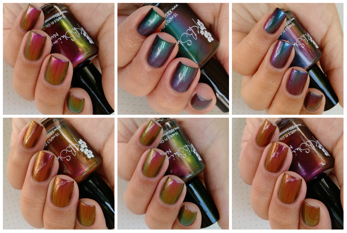 KBShimmer Multi Chrome Collection 2017