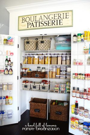 This pantry is gorgeous, isn't it?