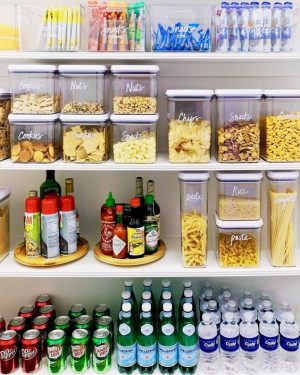 11 Simply Beautiful Pantry Organization Ideas | Of Life and Lisa
