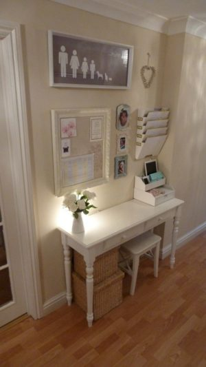 How lovely is this command center? I love that desk!