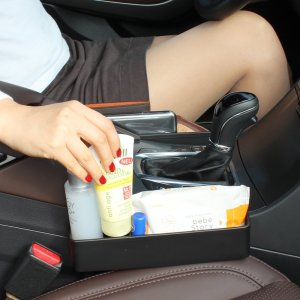 No more worries about things fallen in between your car seat! With these side pocket organizers, everything you need is right within reach.