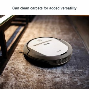 A robotic floor cleaner is just what the doctor ordered.