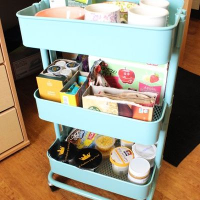 13 Brilliant Ways to Organize with an IKEA Raskog Rolling Cart