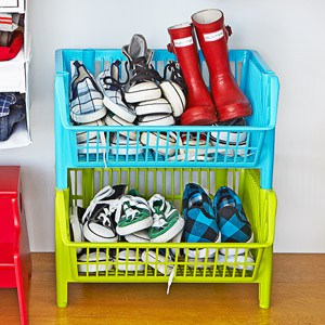 I need this in my boys' room to keep their shoes organized. Repin for later!