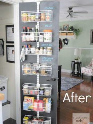 How to Make Space for a Pantry When You Have a Tiny Kitchen