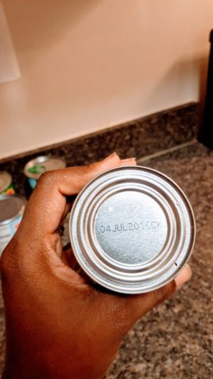 Check for expirations dates on your canned goods.