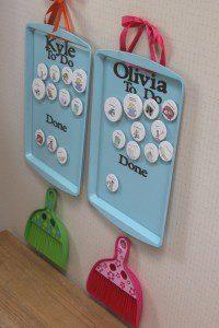 chore chart school organization 200x300 - 17 Brilliant Back to School Organization Ideas Even Your Kids Will Love