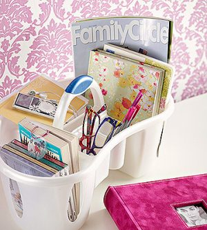 Store your dorm essentials in a portable shower caddy so you can store it away when not in use. Repin for later!