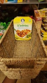 These seagrass baskets were perfect for storing my daughter's baby food!