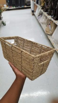 Seagrass Basket from Walmart