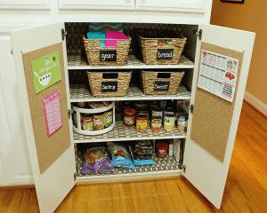 snack station kitchen - 17 Brilliant Back to School Organization Ideas Even Your Kids Will Love