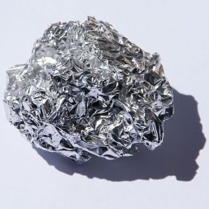 Use a ball of aluminum foil into your dryer to get rid of wrinkles and soften fabric.