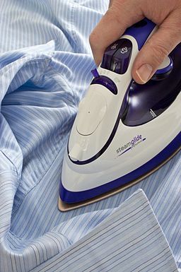 Use an onion to get rid of scorch marks on your clothes.