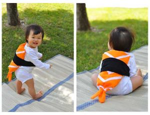 Diy baby sushi costume. Love this idea!