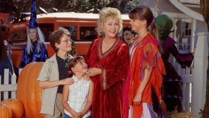 A Disney channel classic. Halloweentown! Can't wait to watch this.