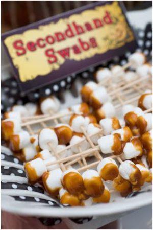 Halloween food idea- Dirty Q-Tips!