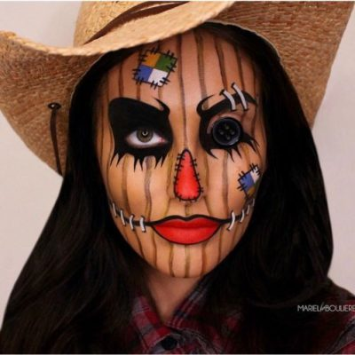21 Freakishly Cool Halloween Makeup Ideas You'll Want to Steal