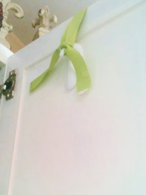 Use Command hooks to hang your wreaths and other decorations for Christmas.