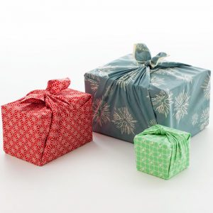 Wrap your Christmas gifts in fabric instead of paper. Better for the environment and will save you money!