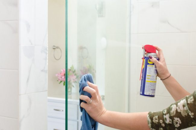 9 Cleaning Hacks That Will Keep Your Shower Doors Clean For Months | Of  Life + Lisa