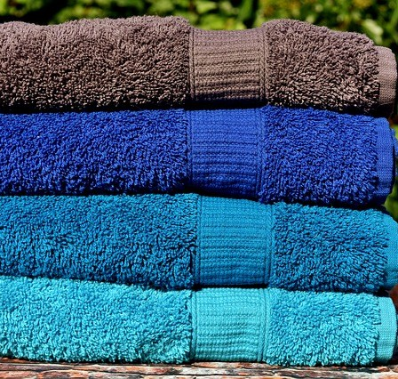 How to make hard scratchy towels soft again.