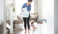 A cleaning schedule for Moms who are too busy to clean.