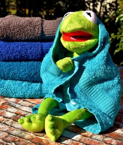 How to keep your towels soft and fluffy.