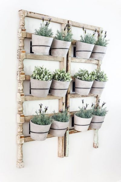 This rustic planter is gorgeous and will instantly brighten any room.