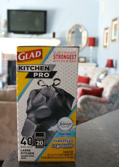 The best way to keep odor in control in your home with scented trash bags.