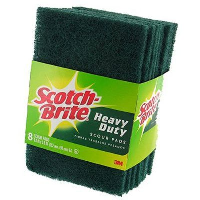 Scrubbing pads are a necessary item to have in your kitchen!