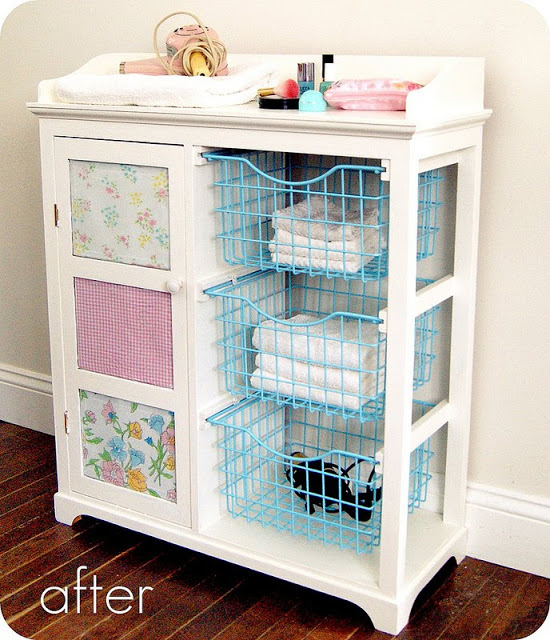 storage cabinet after - 10 Simple Thrift Store Makeover Ideas You'll Want to Steal