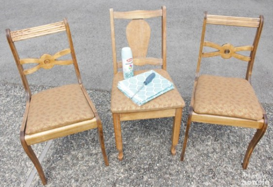 thift store chair - 10 Simple Thrift Store Makeover Ideas You'll Want to Steal
